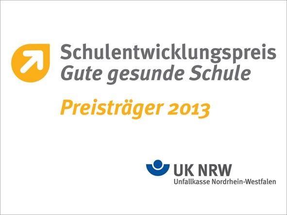 Schulentwicklungspreis 2013